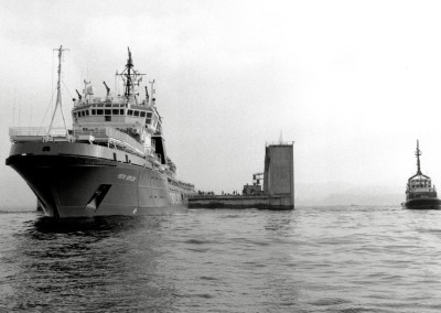 Superbacino galleggiante