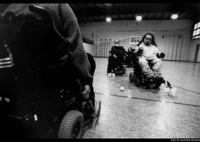 Hockey en fauteuil roulant