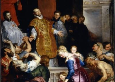 Milagros de San Ignacio de Loyola, Rubens (Iglesia del Jesús)