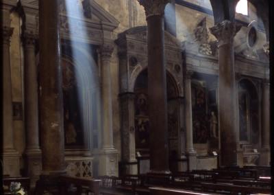 Innerhalb Kirche