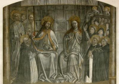 San Domenico, die im Paradies seine Brüder finden