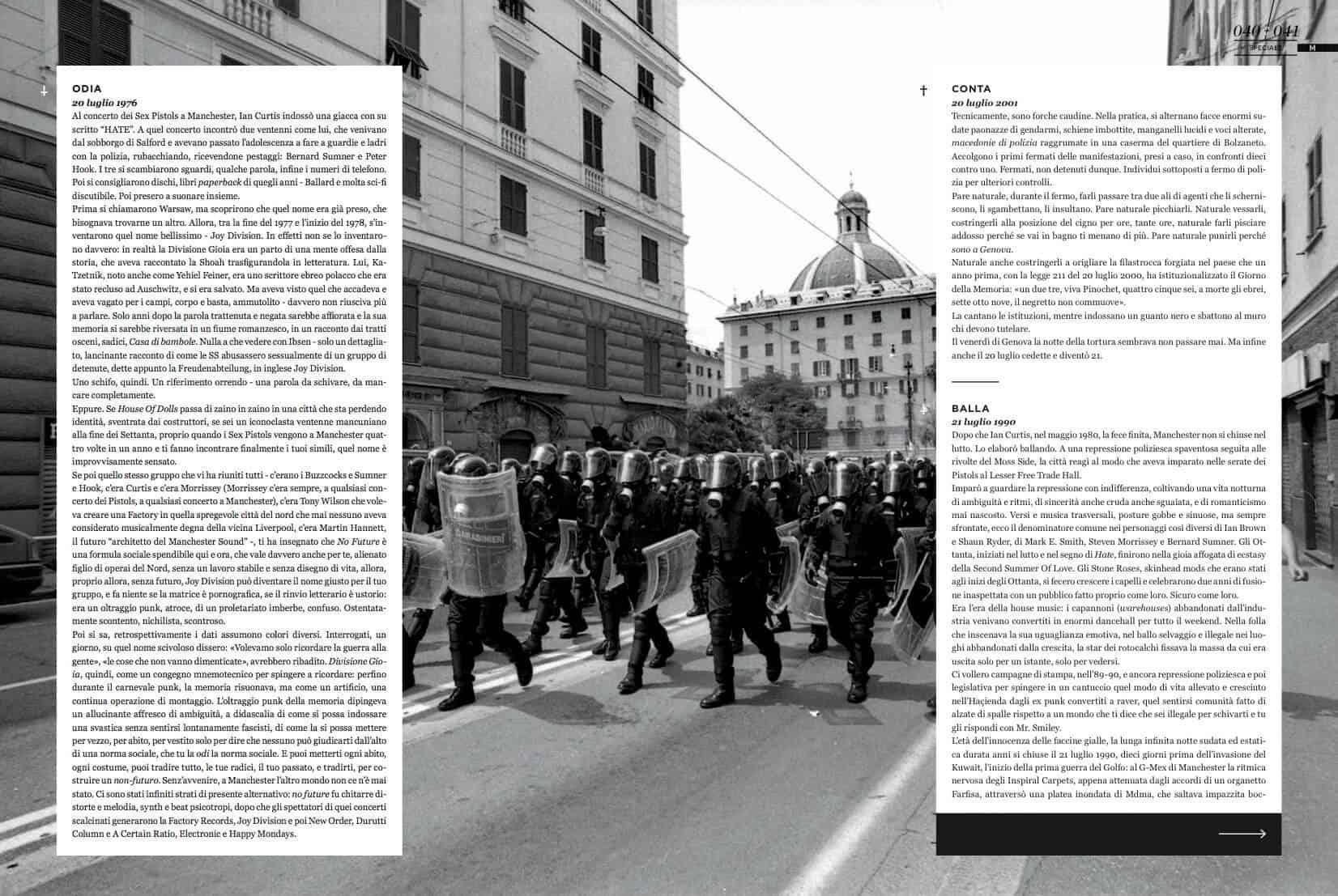 Il Mucchio /Genova G8